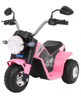 Elektrická motorka MiniBike ružová